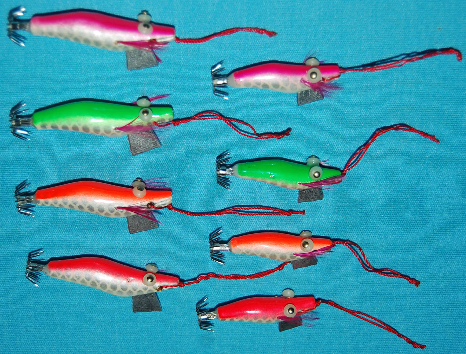 Micro Prawn Squid Jigs